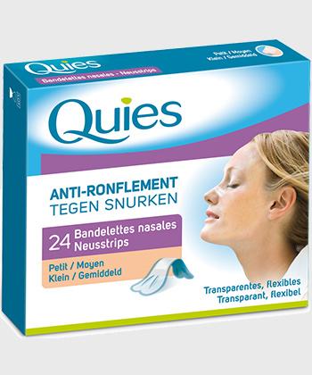 Quies Nasale Streifen Anti-Schnarch-