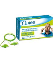 Quies Gehörschutz mit Silikonkabel