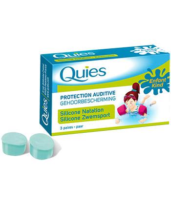 Quies Orecchio silicone Protezione Piscina per Bambini