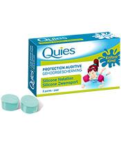 Quies Oído silicona Protección Piscina infantil