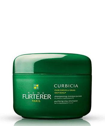 Furterer Curbicia Shampooing-masque pureté à l'argile absorbante