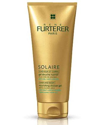 Furterer Solaire Gel douche nutritif cheveux et corps