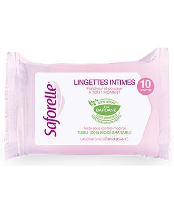 Saforelle Salviettine Intime Ultra Gentle