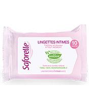 Saforelle Lingettes Intimes Ultra Douces