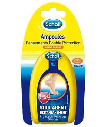 Scholl Pansements Ampoule Double Protection