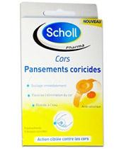 Scholl Apósitos Coricides Cuernos