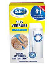 Scholl SOS verrugas