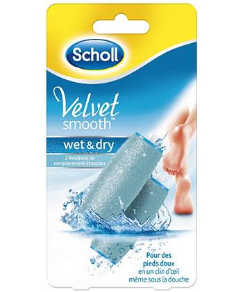 Scholl Recargas deVelvet Smooth Wet & Dry