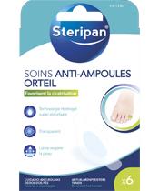 Steripan toe cuidado anti-blister