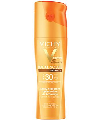 Vichy Ideal Sun Bronze Body Spray