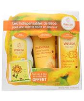 Weleda Coffret les Essentiels de B�b� + Sac � dos offert