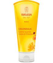 Weleda Waschcreme Körper und Haare Calendula